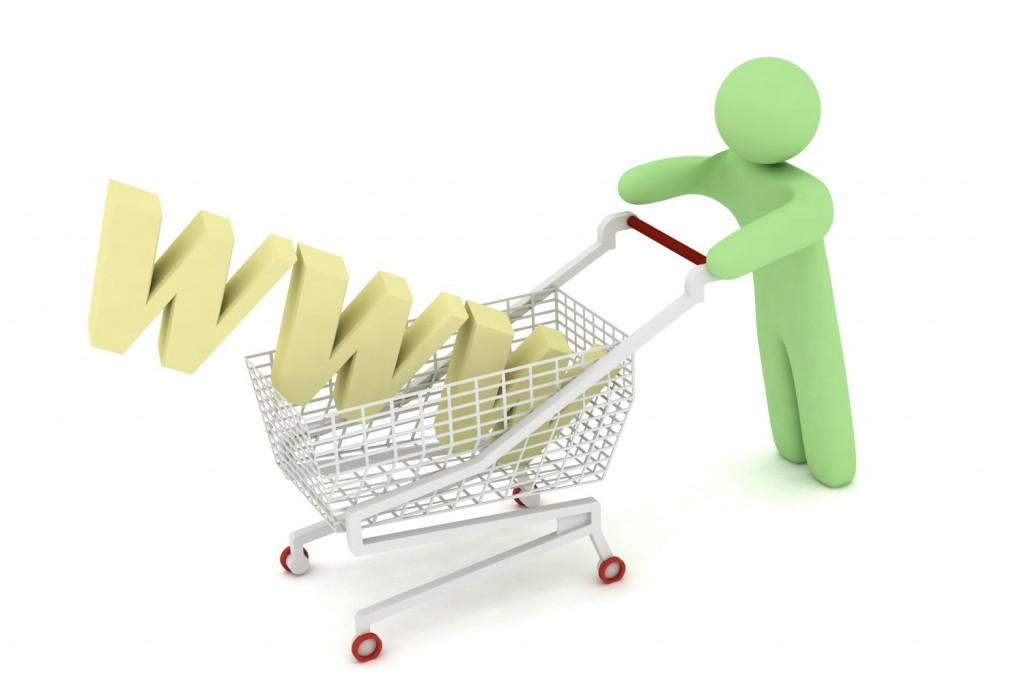Shopping online med
